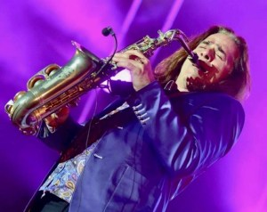 Diamonds - Saxophonist Andrew Young