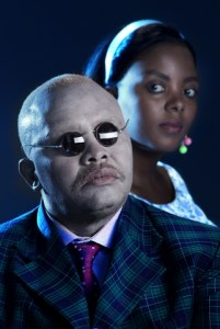 South Africa's foremost baritone, Fikile Mvinjelwa, sings Rigoletto.