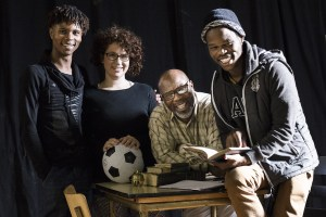 My Children My Africa - Sihle Mnqwazana, Kate Pinchuck, Nhlanhla Mkhwanazi Mahlatsi Mokgonyana (director). Photo by Jesse Kramer