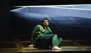 Jonas Kaufmann as Florestan in Salzburg's new production of Beethoven's Fidelio (© Salzburger Festspiele/Monika Rittershaus)