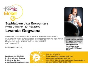 Sophiatown jazz encounters series