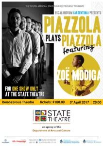 Piazzola plays Piazzola featuring Zoë Modiga
