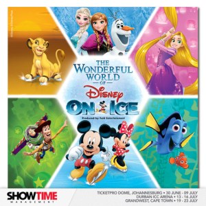 Disney On Ice soon returns to South Africa with The Wonderful World of Disney On Ice!