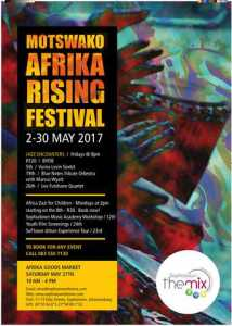 Motswako - Africa Rising Festival