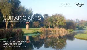 GUITAR GIANTS at NIROX Sculpture Park