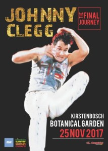 Kirstenbosch Botanical Garden bids farewell to Johnny Clegg.