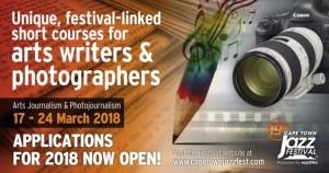 CTIJF announce 2018 dates for arts courses