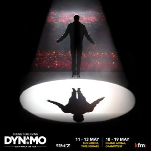 DYNAMO brings his magic LIVE TOUR to SA for the first time.