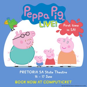 Peppa Pig Live at the SA State Theatre soon.