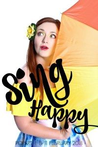 Sing Happy Poster