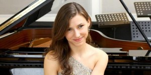 Anna Dmytrenko, pianist, who is the soloist for the first concert on 22 February.