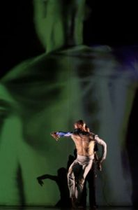 2011 Dance Umbrella Johannesburg 24 February - 06 March.  Wits University Theatre, 05 March.  'Fractured' choreographed by Fana Tshabalala and performed by Moving Into Dance Mophatong dancers Tshabalala, Muzi Shili, Thembi Setiabi, Thandi Tshabalala and Sonia Radebe.  Supported by The National Arts Council, Rand Merchant Bank,The National Lottery and Anglo American.  Photograph  :  John Hogg.