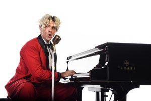 Jonathan Roxmouth as Jerry Lee Lewis in Great Balls of Fire!