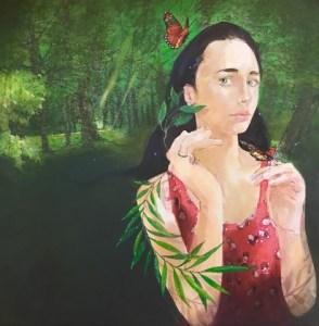 The Legend of Daphne by Louis Jansen van Vuuren. Mixed Medium on Canvas.