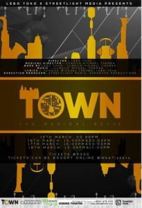 Joburg Theatre welcomes a brand new musical revue, TOWN