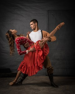 Joburg Ballet: Monike Cristina & Revil Yon in Carmen. Photo by Lauge Sorensen.