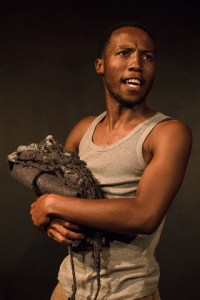 Tswalo is written and performed by Billy Langa. (Photographer: Jesse Kramer)