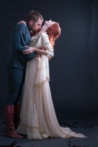 Lyle Buxton as Sir Lancelot and Jessica Sole as Queen Guinevere. Photo by Val Adamson.