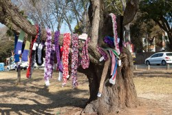 67 Blankets for Nelson Mandela Day Secret Scarve 2017