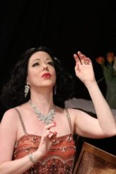 Heather Massie as Hedy Lamarr - photo by Monica Callan