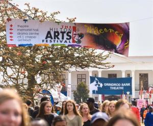 Hilton Arts Festival - festival crowds