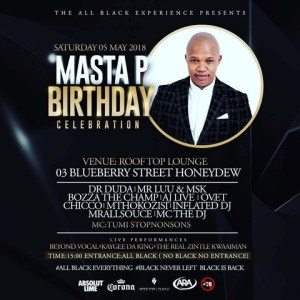 Masta P Birthday Celebration