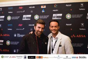 Sharlto Copley & Jehad Kasu at CTIFMF 2017