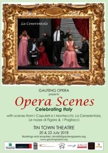 Gauteng Opera presents Opera Scenes Italy
