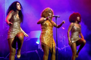 South African-born songstress, Caroline Borole as Tina Turner in Tina: Simply The Best