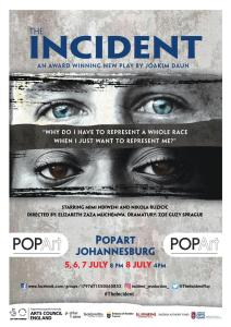 The Incident comes to POPArt this week after launching its nationwide tour at the National Arts Festival