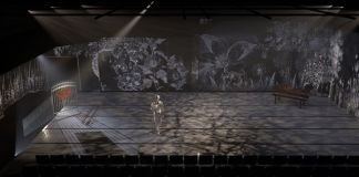 Wilhelm Disbergen has created an enchanting landscape for JYB's The Selfish Giant