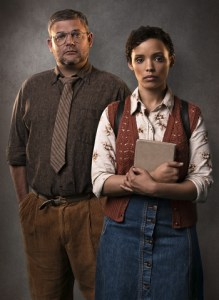 Alan Committie and Nicole Fortuin in Mamet's Oleanna