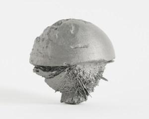 Ives Maes, 50°56'46.3__N x 5°26'32.8__E, 2014, 3D print.