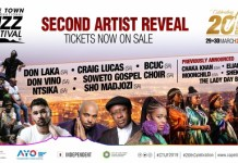 CTIJF 2019 - 2nd Artist Reveal