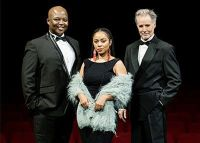 Timothy Moloi, Mariechan and Joseph Clark