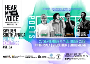 #SE_SA - Sweden_South Africa Poetry Exchange - Phase 3