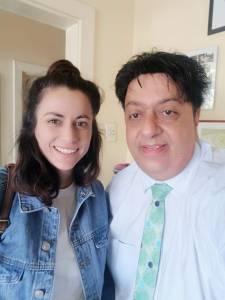 Aliki Saragas with Renos Spanoudes