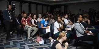 A session at the 9th Durban FilmMart