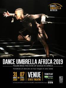Dance Umbrella Africa 2019 headlining acts