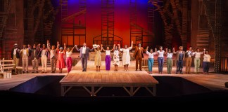 Taking a bow: The cast of The Color Purple on The Mandela Stage at the Joburg Theatre