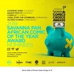 THE SAVANNA PAN-AFRICAN COMIC OF THE YEAR