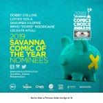 THE SAVANNA COMIC OF THE YEAR AWARD