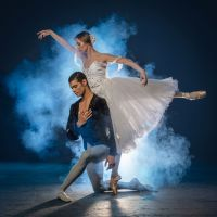 Joburg Ballet: Shannon Glover as Giselle and Revil Yon as Count Albrecht (Photo: Lauge Sorensen)