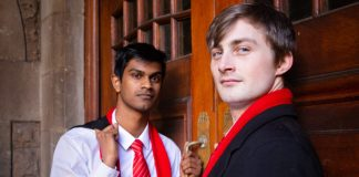Shakespeare's R&J featuring Matthew Baldwin and Tailyn Ramsamy as the title characters