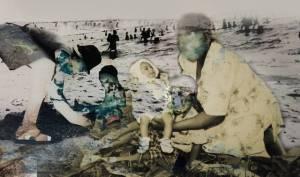 Vanessa Tembane, Um dia na Praia 1 (A day at the beach) (2018)