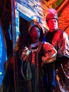 Nonhlanhla Mkhonto & Luciano Zuppa in Story Book Theatre