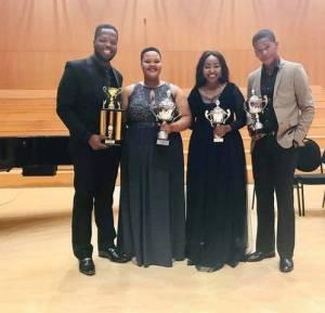 Voices of South Africa Opera Singing Competition 2019: Msimelelo Mbali, Lebogang Polori, Segomotso Shupinyang, Thando Zwane