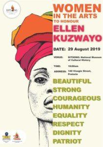 Women in the Arts open Ellen Kuzwayo exhibition