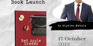 Siphiwo Mahala launches Red Apple Dreams at The Market Theatre