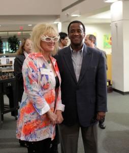 Leoma with FGCU President Bradshaw 3